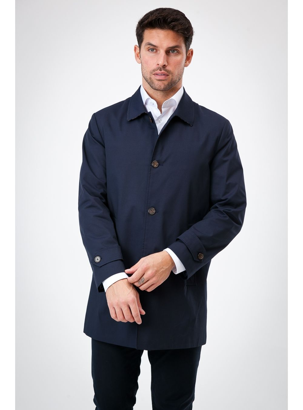 Spring Cotton Trench