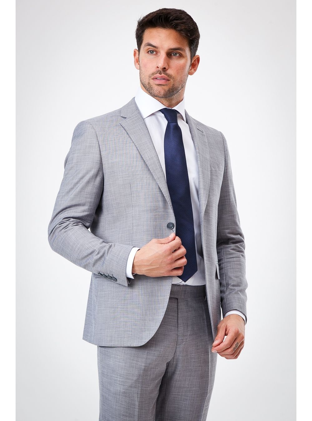 Light Grey Spring Suit